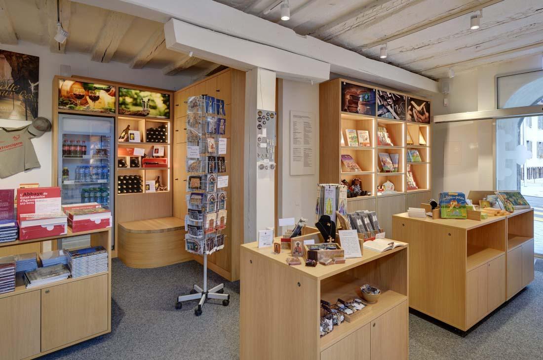 Abbaye de St-Maurice | Boutique | Museum Développement MCDO Sàrl