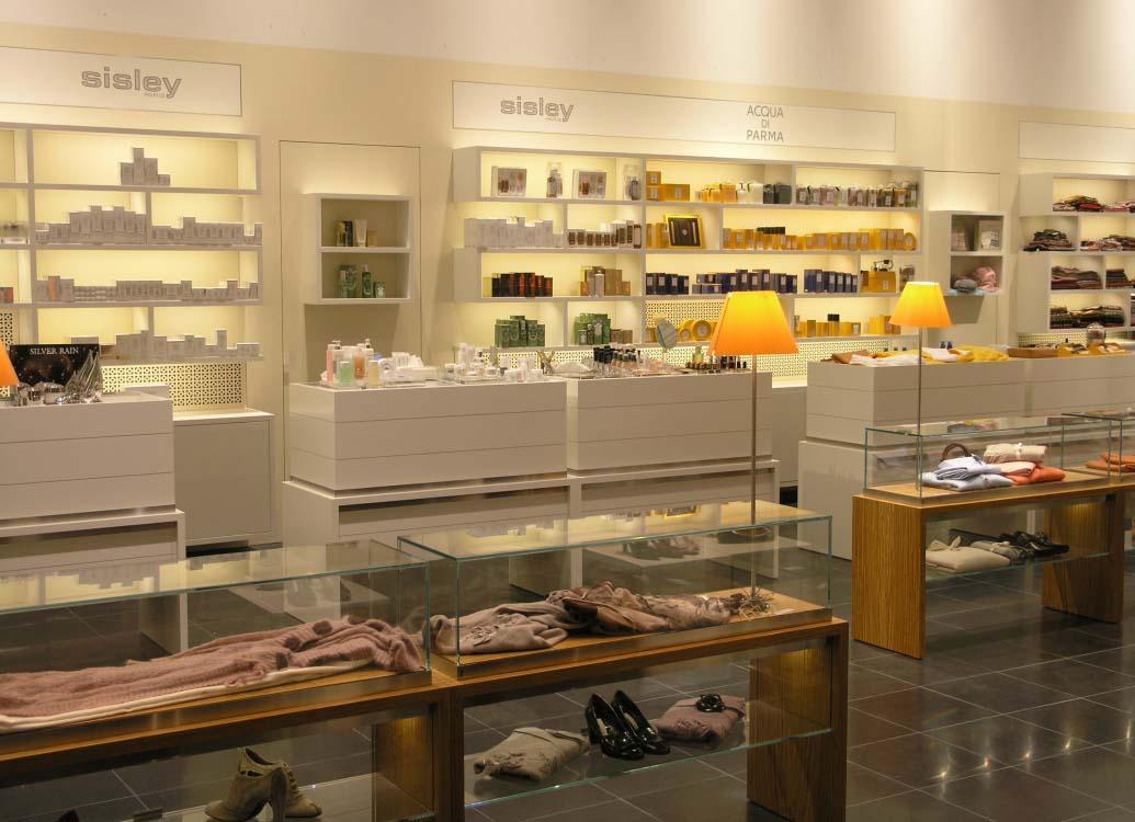 Bongénie Grieder Parfumerie | Genève | Version B intérieur & architecture SA