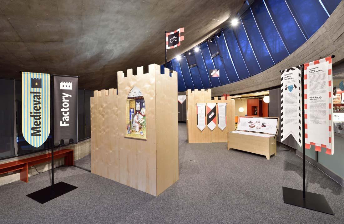 Espace des inventions | Exposition Medieval Factory | Lausanne