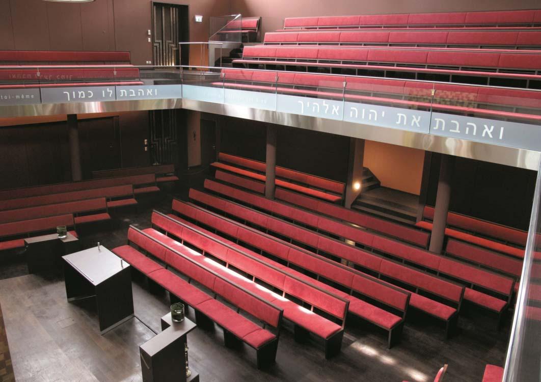 Synagogue | Route de Chêne / Genève | GA Groupement d'Architectes SA