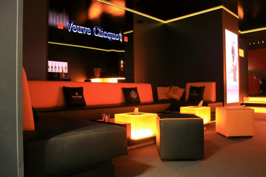 Red Club Palace | Bar Veuve-Clicquot | Lausanne