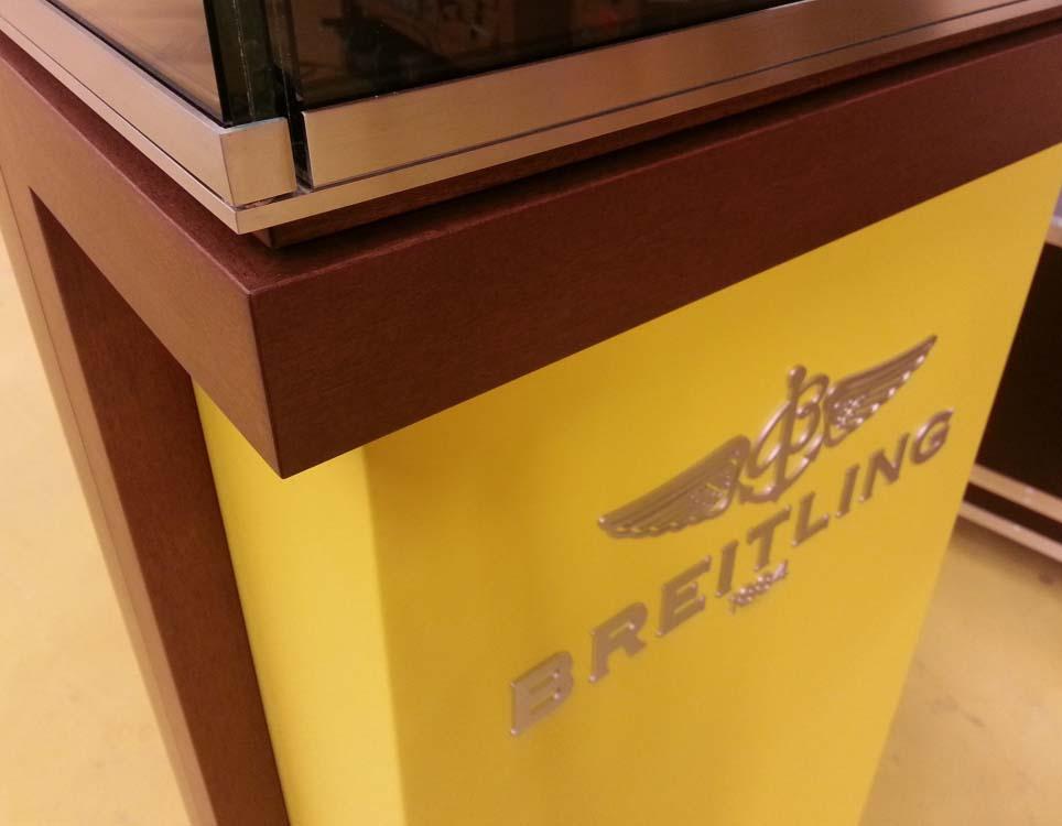 Breitling | Détail Vitrine | Bijouterie Kayser | Luxembourg