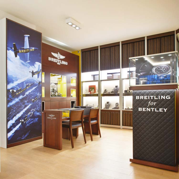 Breitling | Corner de vente | Bijouterie Kayser | Luxembourg