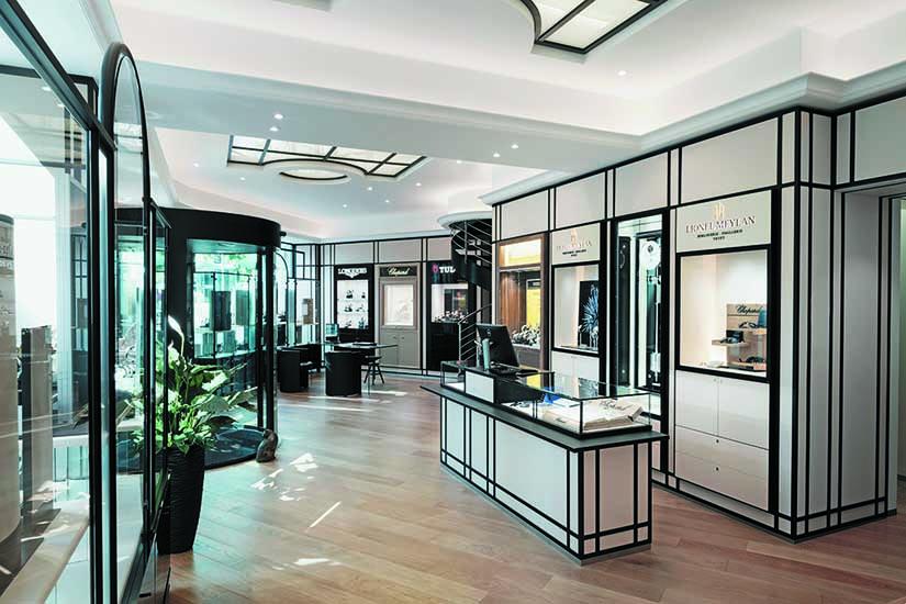 Bijouterie Lionel Meylan SA | Vevey | Architecture d'intérieur / Jean-Daniel Hofmann