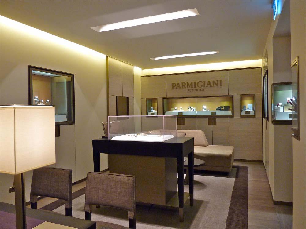Parmigiani Fleurier | Boutique | Munich | CA&CO Architecture intérieure