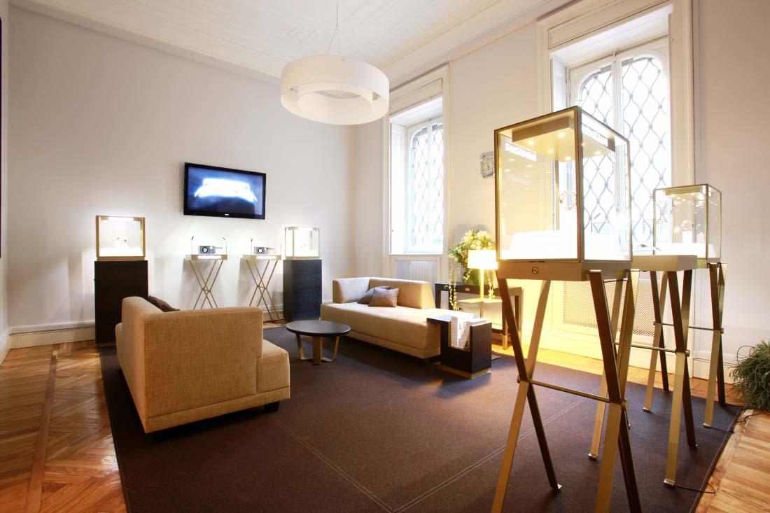 Parmigiani Fleurier | Boutique | Milan | CA&CO Architecture intérieure