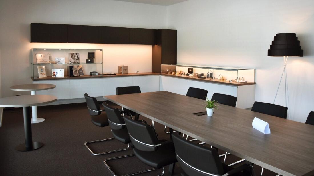 Huguenin & Sandoz SA | Showroom | Boudry | Concept RS