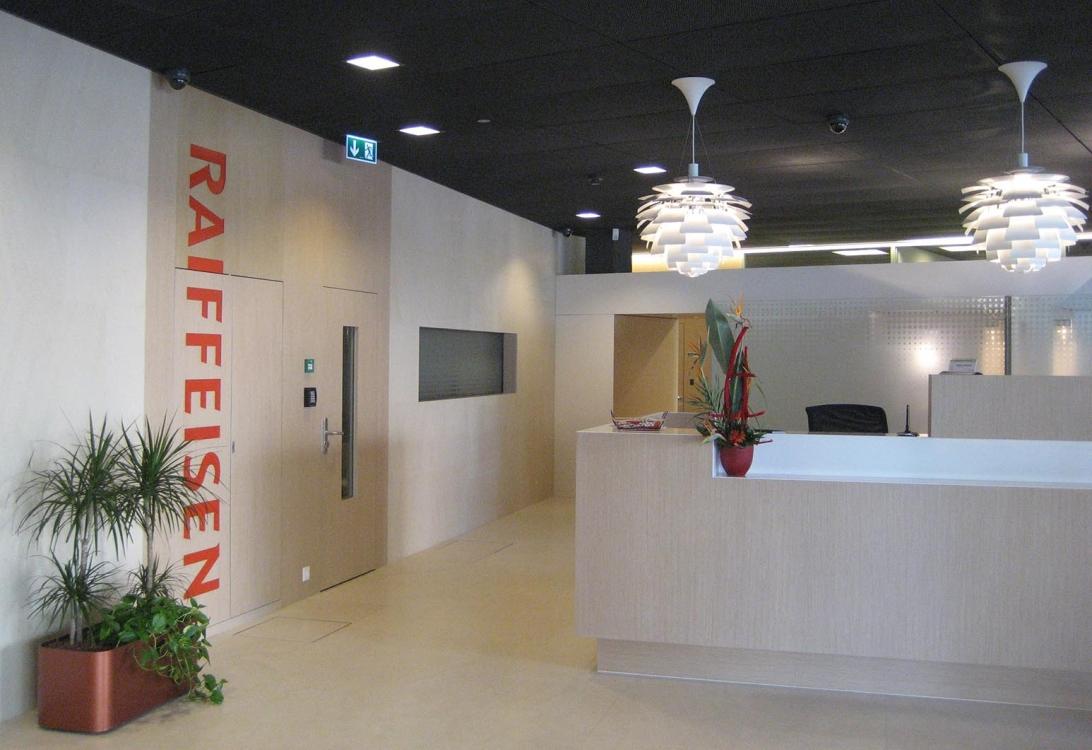 Banque Raiffeisen | 3BM3 Atelier d'architecture