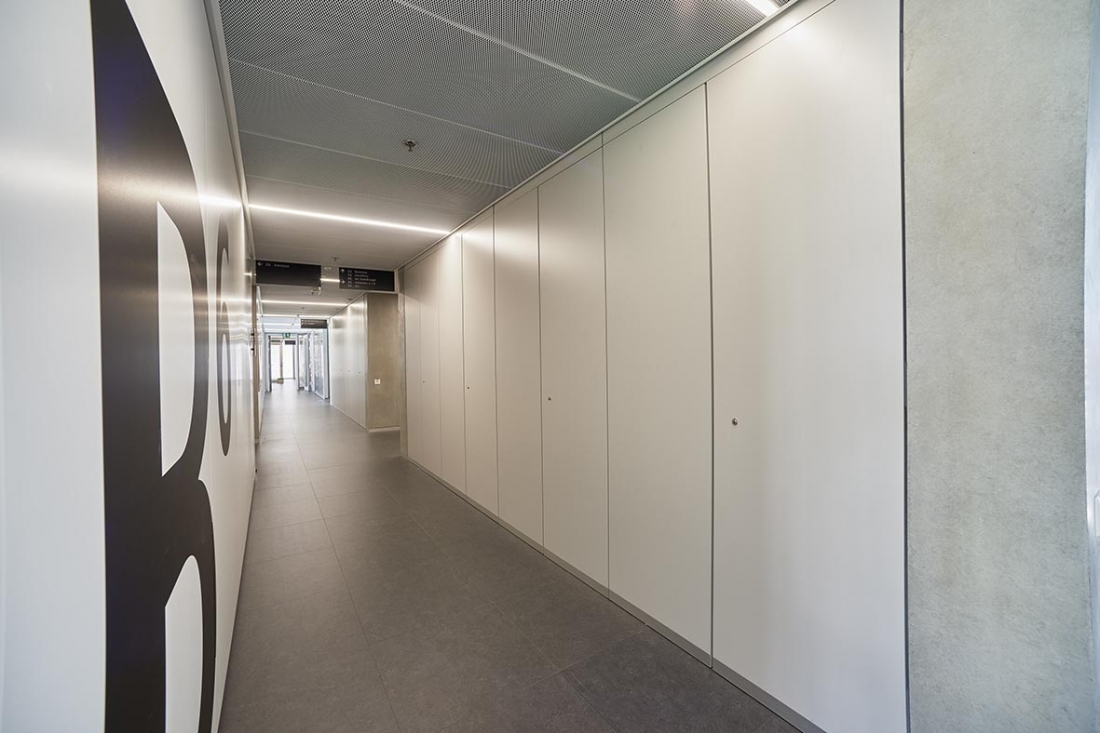RTS | Porte technique | Genève | Architecture 3BM3