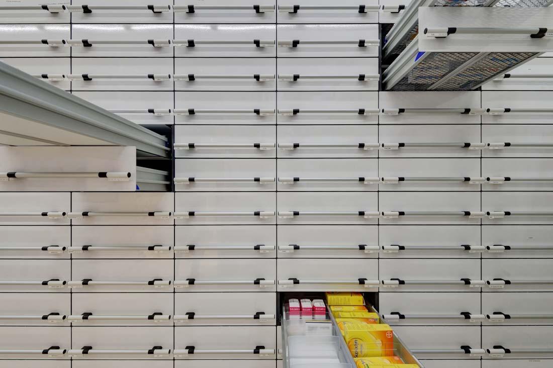 Pharmacie BENU | Sierre | Concept RS